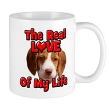 RealLoveOfMyLife Brittany Spaniel Mugs