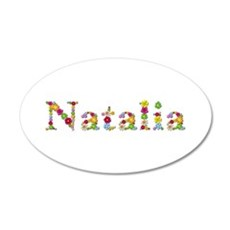 Natalia Bright Flowers Wall Decal