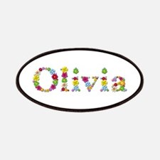 Olivia Bright Flowers Patch