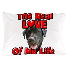 RealLoveOfMyLife Black Lab Pillow Case