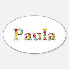Paula Bright Flowers Oval Decal