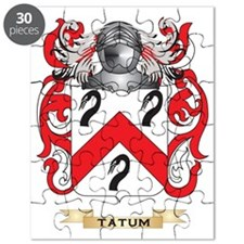 Tatum Family Crest (Coat of Arms) Puzzle