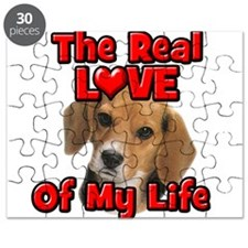 RealLoveOfMyLife Beagle Puzzle
