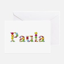 Paula Bright Flowers Greeting Card