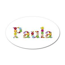 Paula Bright Flowers Wall Decal