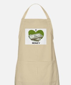I LOVE MONEY BBQ Apron
