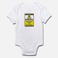 Caution Infant Bodysuit