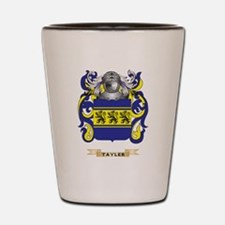 Tayler Family Crest (Coat of Arms) Shot Glass