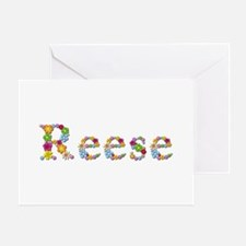 Reese Bright Flowers Greeting Card