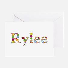 Rylee Bright Flowers Greeting Card