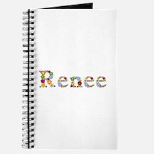 Renee Bright Flowers Journal