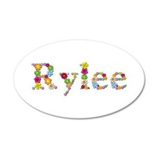 Rylee Bright Flowers Wall Decal