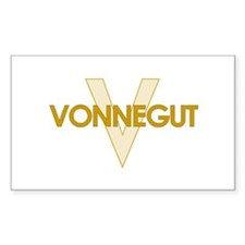 Kurt Vonnegut Rectangle Decal