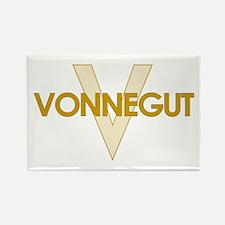 Kurt Vonnegut Rectangle Magnet