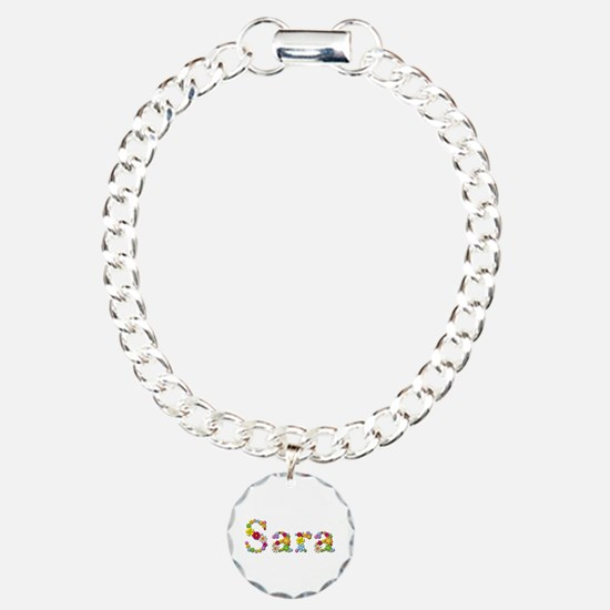 Sara Bright Flowers Bracelet
