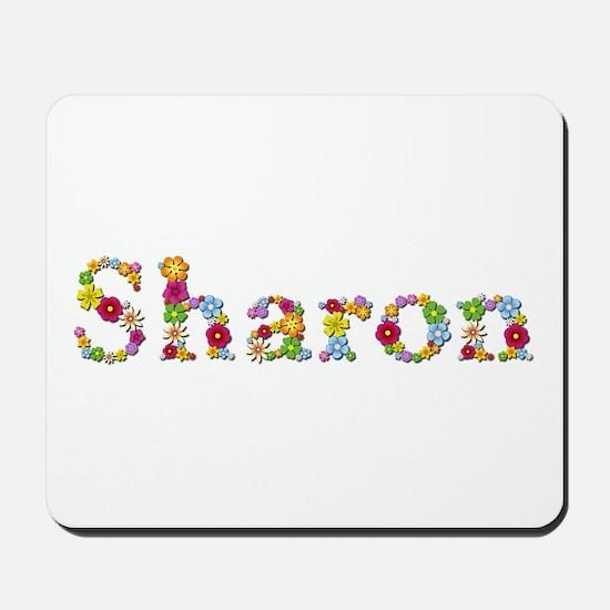 Sharon Bright Flowers Mousepad