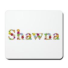 Shawna Bright Flowers Mousepad