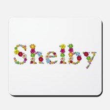 Shelby Bright Flowers Mousepad