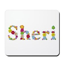 Sheri Bright Flowers Mousepad