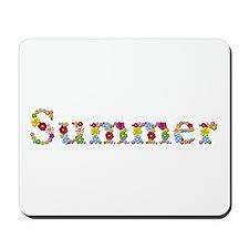 Summer Bright Flowers Mousepad