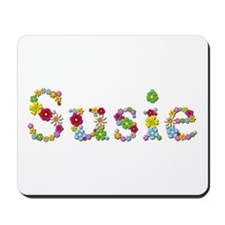 Susie Bright Flowers Mousepad