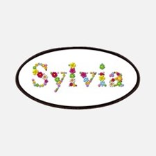 Sylvia Bright Flowers Patch