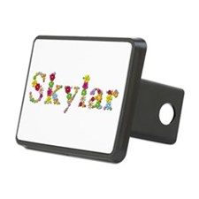 Skylar Bright Flowers Hitch Cover
