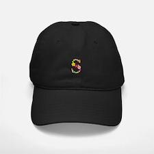 S Bright Flowers Baseball Hat