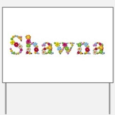 Shawna Bright Flowers Yard Sign