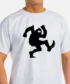 bigfoot outline T-Shirt
