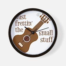 Frettin mahogony Wall Clock