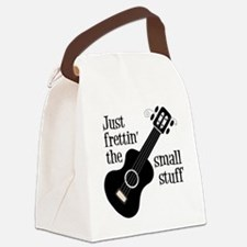 Frettin 2, black uke Canvas Lunch Bag