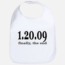 Bush Finally The End Bib