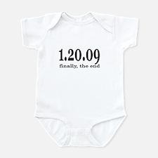 Bush Finally The End Infant Bodysuit