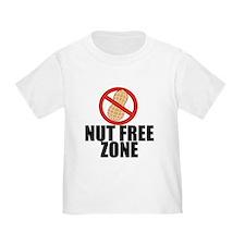Nut Free Zone T