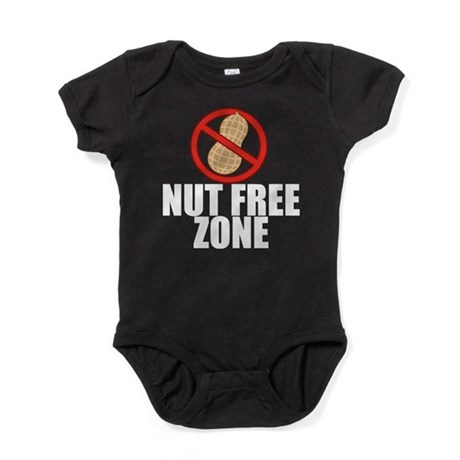 Nut Free Zone Baby Bodysuit