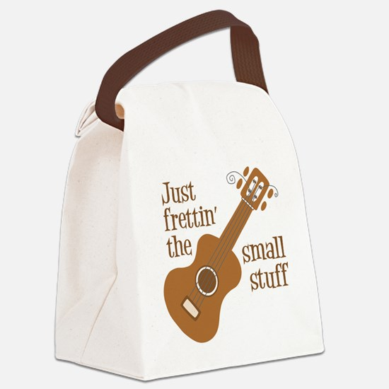 Frettin tan uke Canvas Lunch Bag