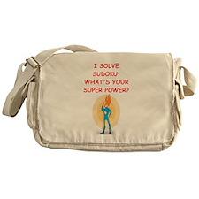 SUDOKU Messenger Bag