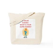 SUDOKU Tote Bag