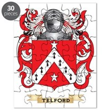 Telford Family Crest (Coat of Arms) Puzzle