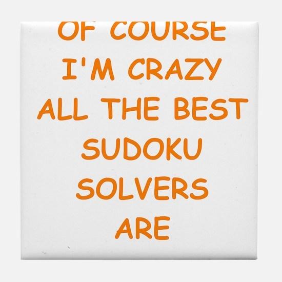 SUDOKU2 Tile Coaster