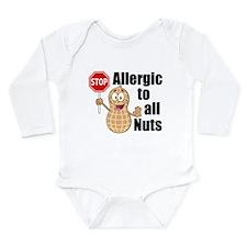 Peanut Allergy Onesie Romper Suit