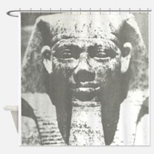 pharoah image Shower Curtain