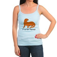 F is for Ferret Jr.Spaghetti Strap