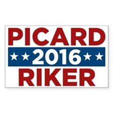 Star Trek Picard Riker 2016 Bumper Stickers