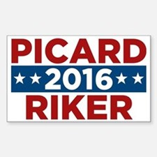 Star Trek Picard Riker 2016 Decal