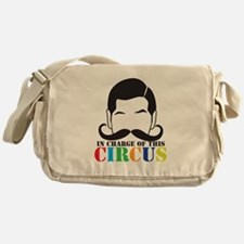 IN CHARGE of this CIRCUS Messenger Bag