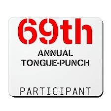 tongue-punch Mousepad