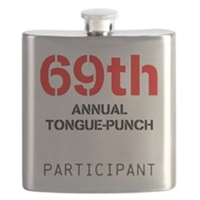 tongue-punch Flask