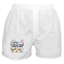 That Cat Lady Boxer Shorts
